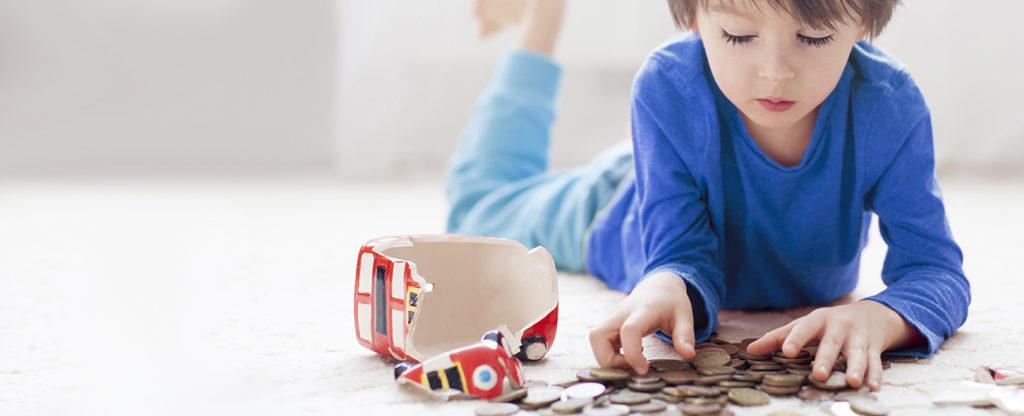 Cuentas bancarias a nombre de menores de edad.
