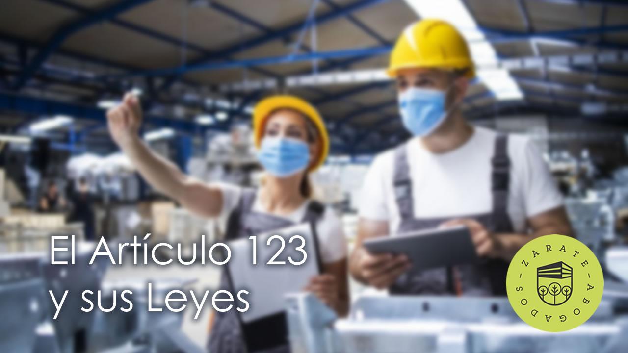 artículo 123 - Ley del trabajo