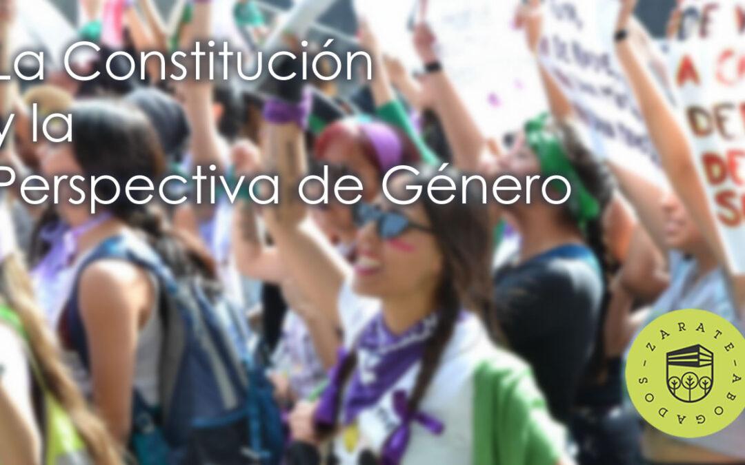 La Constitución y la perspectiva de género