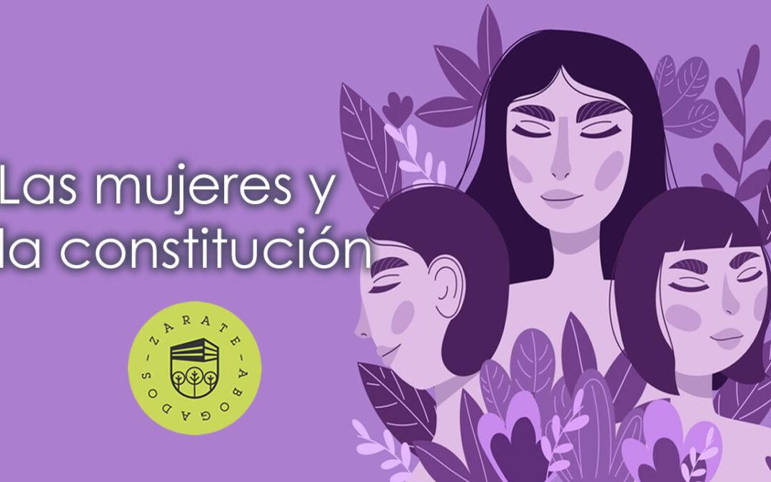Las mujeres y la constitución