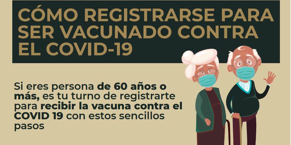 Este es el proceso de registro para la vacuna contra el COVID-19