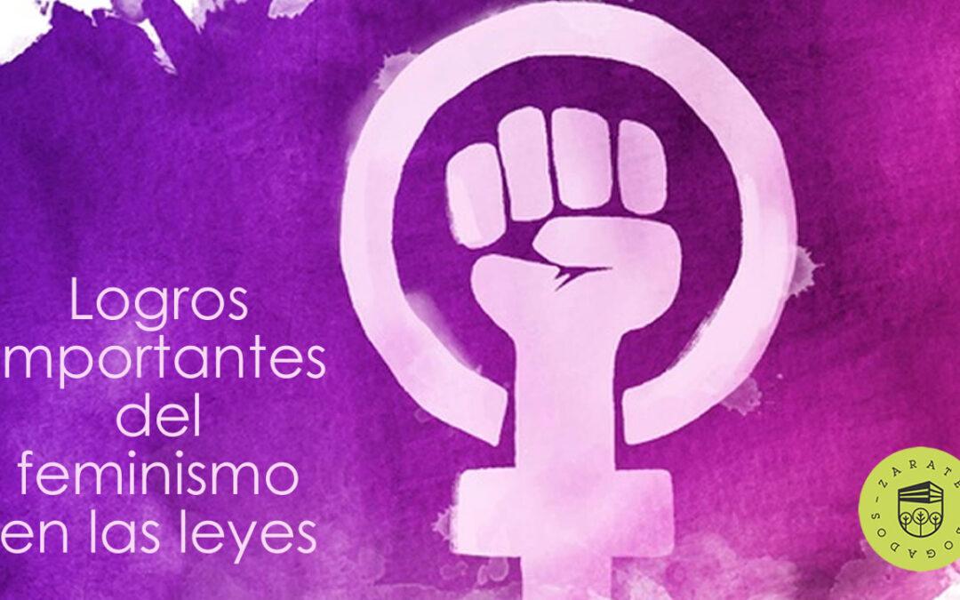 Logros importantes del feminismo en las leyes