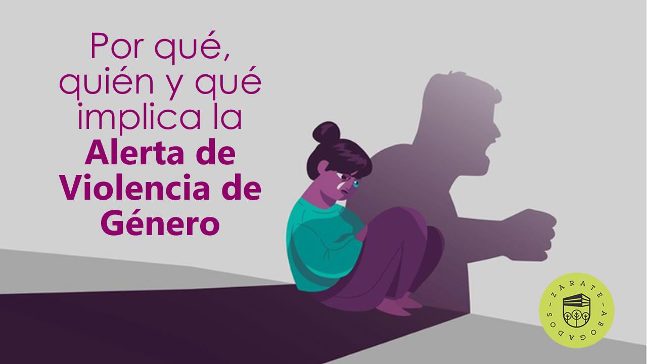 alerta por violencia de género