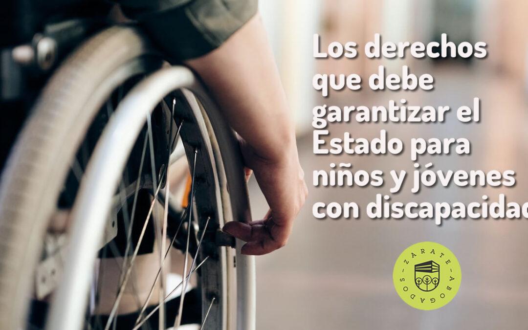 Los derechos que debe garantizar el Estado para niños y jóvenes con discapacidad