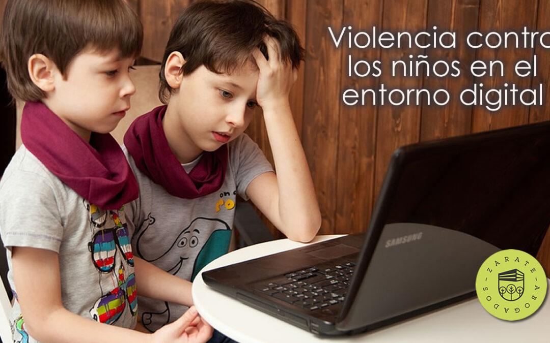 Violencia contra los niños en el entorno digital