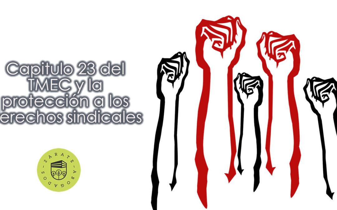 Capitulo 23 del TMEC y la protección a los derechos sindicales