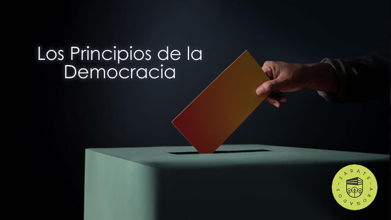 Los Principios de la Democracia