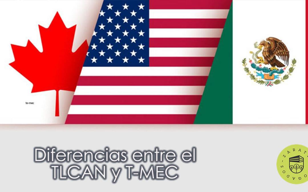 Diferencias entre el TLCAN y T-MEC