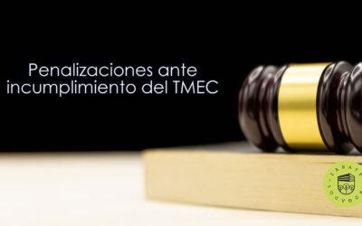 Penalizaciones ante incumplimiento del TMEC