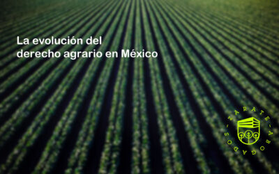 La evolución del derecho agrario en México