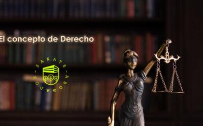 El concepto de Derecho